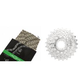 CAMPAGNOLO Veloce Kassette 12-23 & Veloce Kette 10-fach Bundle